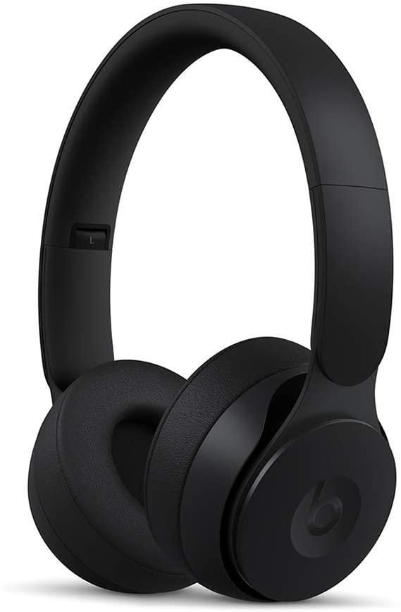 Beats Solo Pro Wireless Noise Cancelling On-Ear Headphones - apple H1 Headphone Chip, Class 1 Bluetooth, active Noise Cancelling, Transparency, 22 Hours Of Listening Time - Black