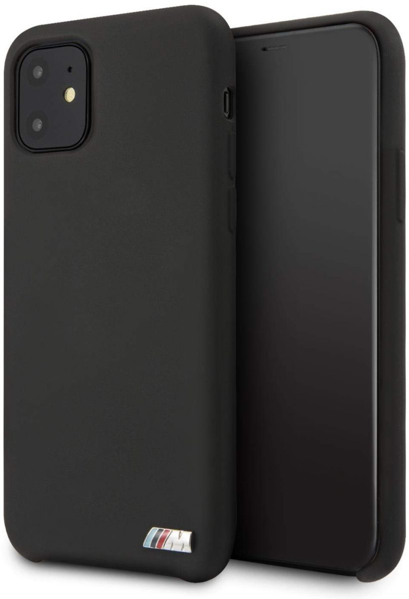 BMW M Hard Case Silicone For iPhone 11 - Black