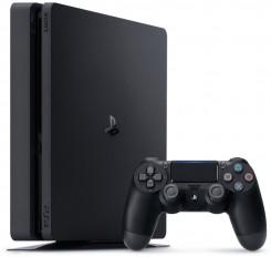 Sony Playstation 4 Slim - 500 GB, 1 Controller, Black