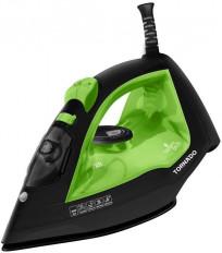 TORNADO Steam Iron 2000 Watt With Ceramic Non-Stick Soleplate In Green Colors TST-2000C