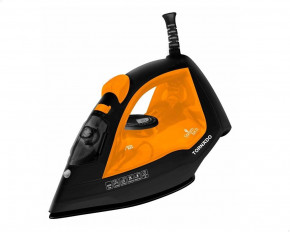 Tornado TST-2200 Steam Iron, 2200 Watt With Ceramic Non-Stick Soleplate - Orange