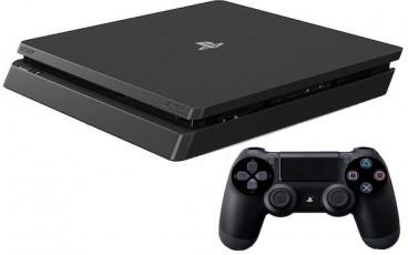 Sony Playstation4 slim , 500 GB , With 1 Controller , Black