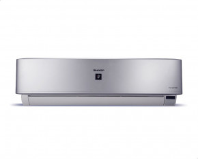 Sharp AY-XP24UHE Cool and Heat Digital Split Air Conditioner with Plasma Cluster - 3HP, Silver