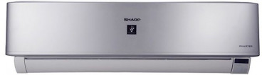 SHARP AY-XP18UHE Cool and Heat Split Inverter Air Conditioner with Plasma Cluster, 2.25 HP - Silver