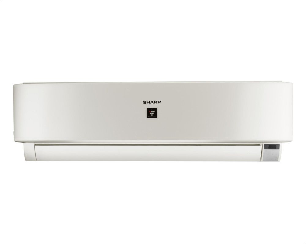 SHARP AY-AP18UHE Split Cool and Heat Premium Plus Air Conditioner with Digital Display, 2.25 HP - White