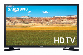Samsung 32 Inch HD Smart LED TV with Built-in Receiver, Black - UA32T5300AUXEG
