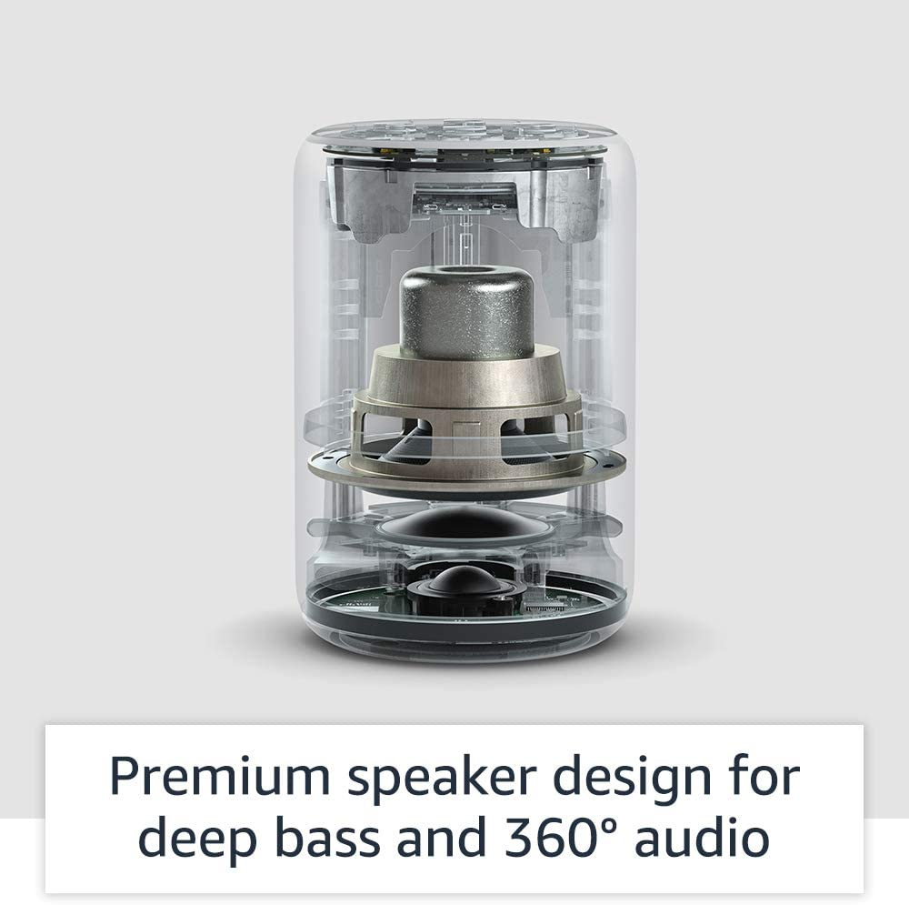 Amazon Echo (3rd generation) Smart speaker with Alexa - Twilight Blue Fabric