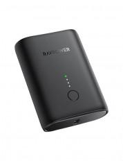 RAVPower RP-PB206 Wired Power Bank, 10000 mAh - Black
