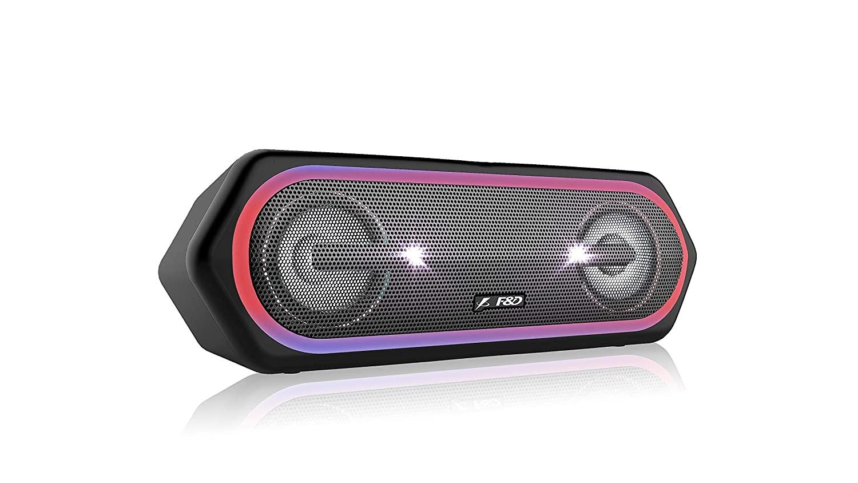 F&D W40 20 W Bluetooth Speaker (Black, Stereo Channel)