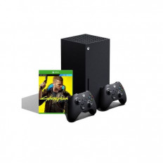 Xbox Series X  With 2 Controller + Cyberpunk 2077