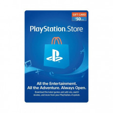 $50 Gift Card For PSN - US Account