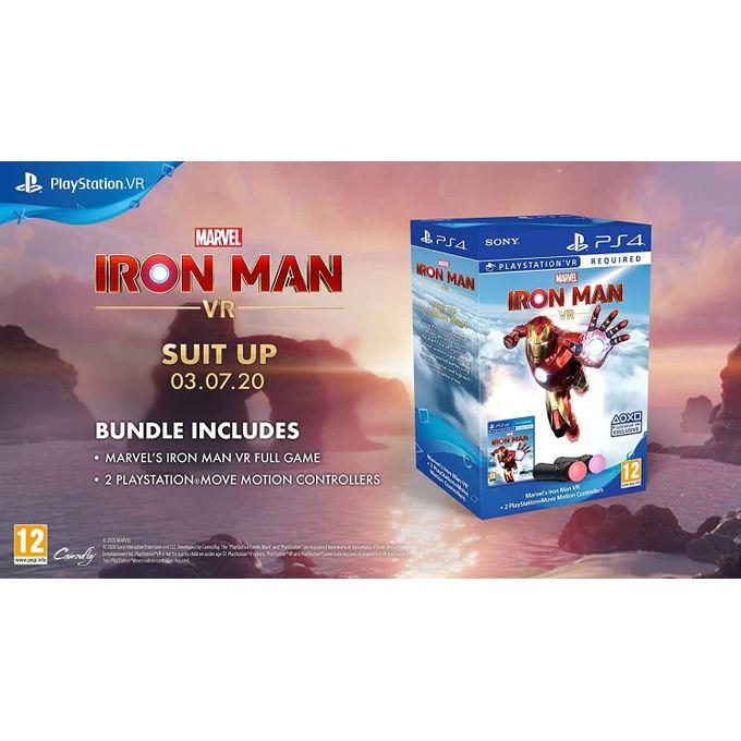 Marvel's Iron Man VR – PlayStation Move Controller Bundle