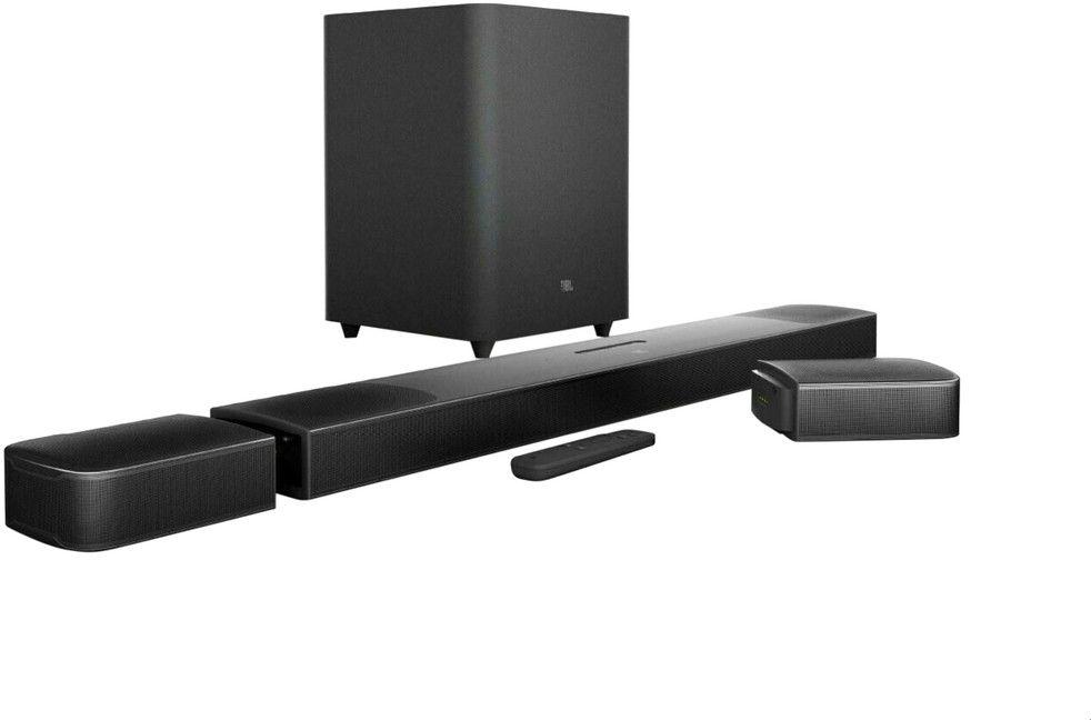 JBL BAR 9.1 True Wireless Surround with Dolby Atmos , BAR913DBLKEP-PR , Black