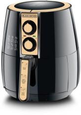 Black & Decker 4 Liter Air Fryer 1.2Kg Performance Range Aerofry, Black/Gold - Af300-B5