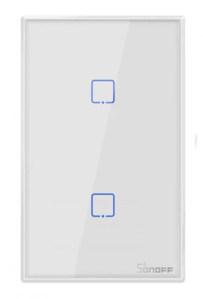 Sonoff Smart Switch Tx T0 2 gang WIFI White color
