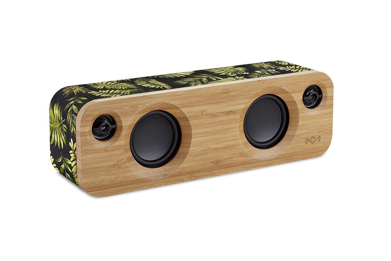 House Of Marley EM-JA013-PM Get Together Mini Wireless Portable Bluetooth Audio Speaker