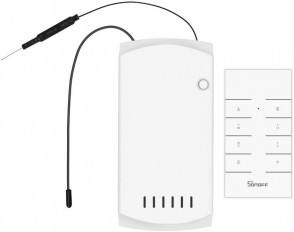 SONOFF iFAN03 WiFi Ceiling Fan&Light Controller, APP Control&Remote Control, Works with Amazon Alexa & Google Home Assistant, No Hub Required(2.4G WiFi)