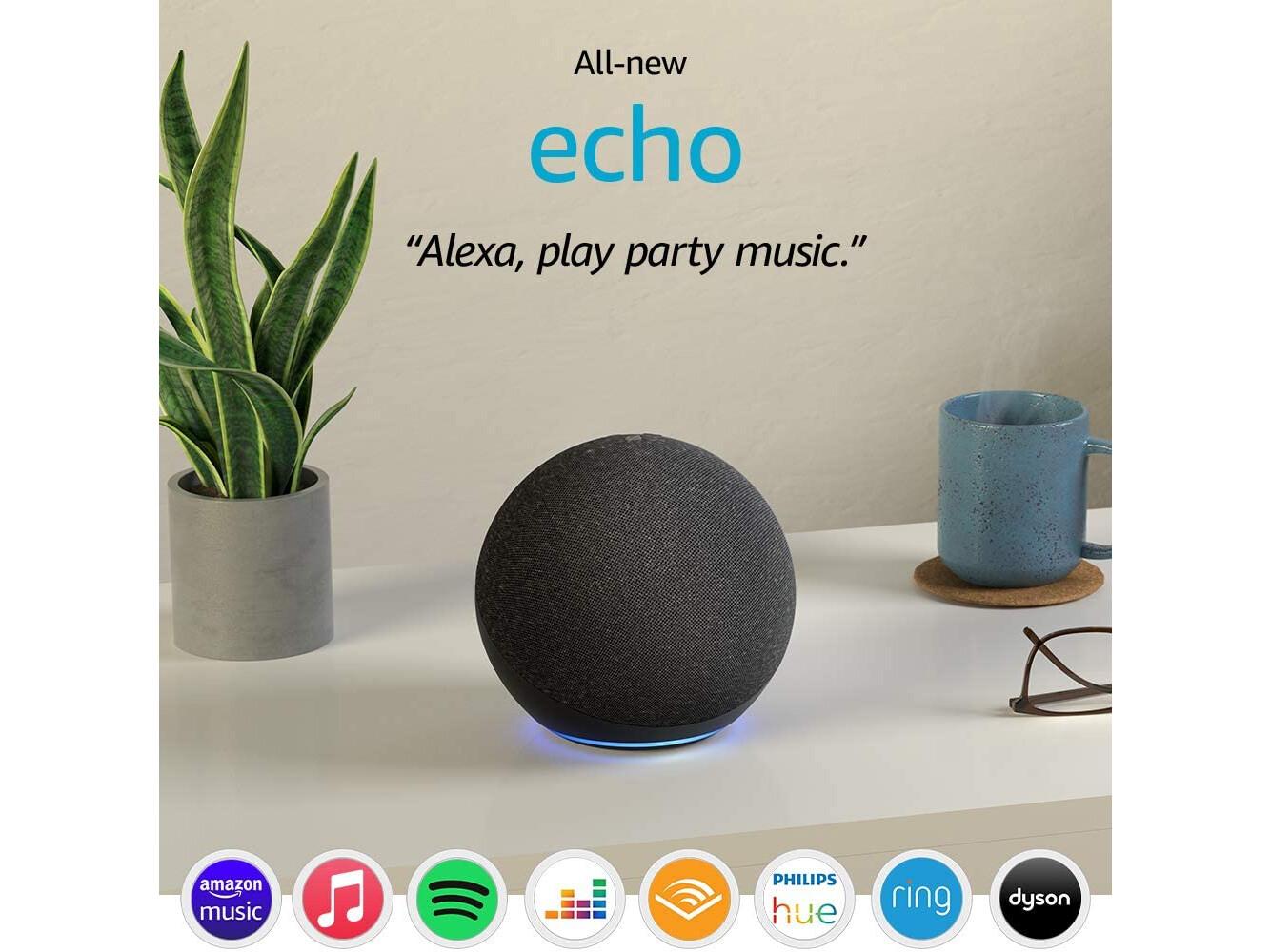 Amazon Echo (4th Gen) Smart speaker with Alexa -Twilight Blue