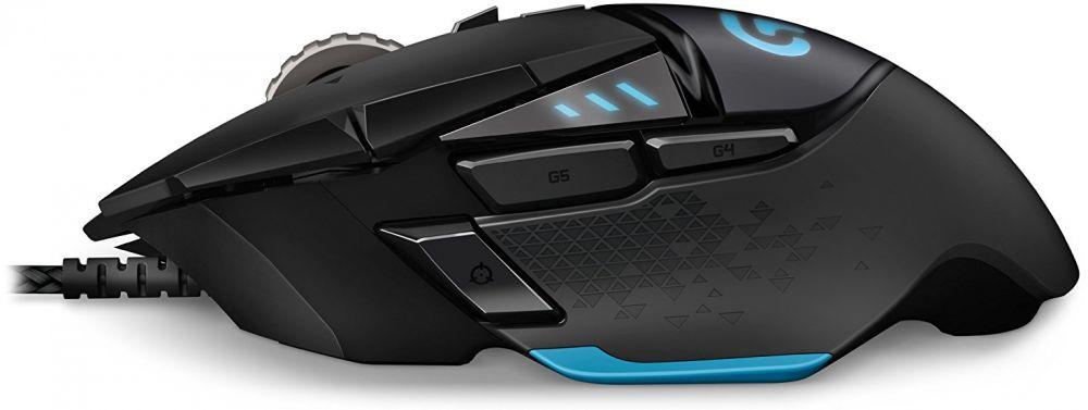 Logitech G502 Proteus RGB Spectrum Tunable Gaming Mouse - Black