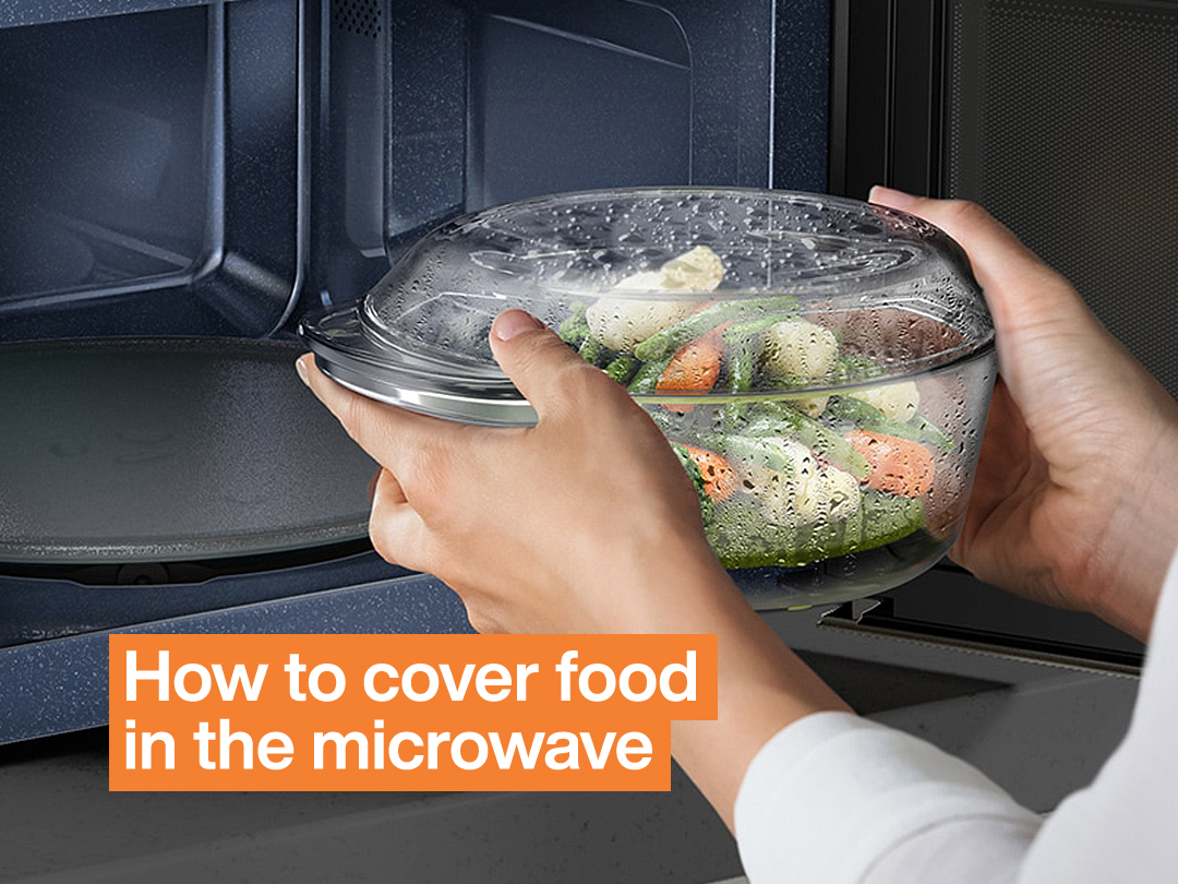 How to Cover Food in the Microwave