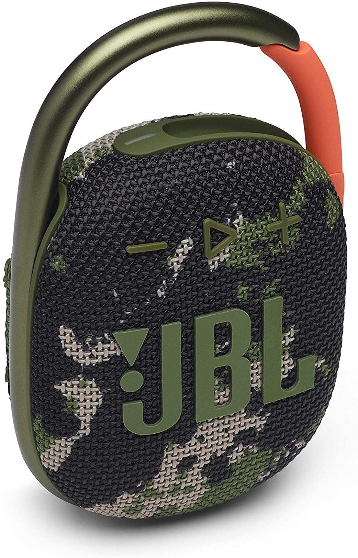 JBL Clip 4 Portable Bluetooth Speaker (Squad)