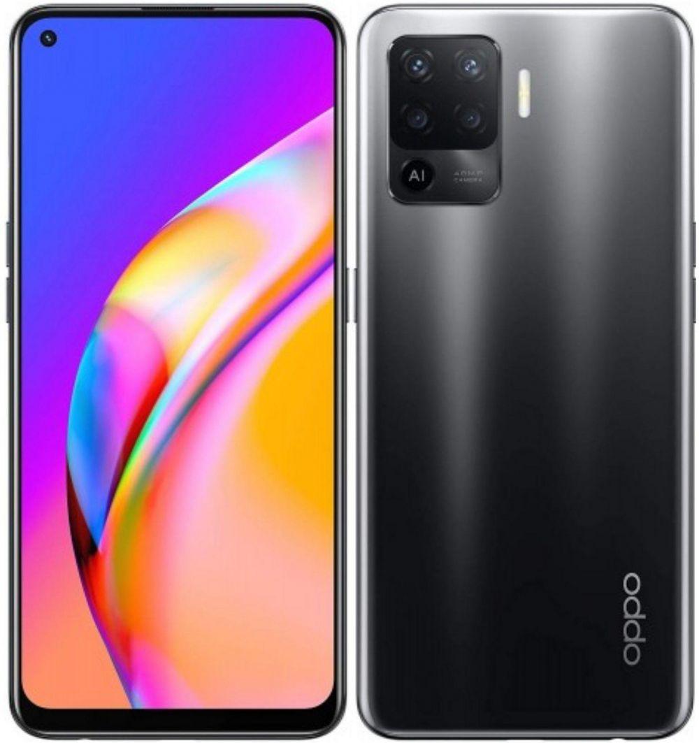 Oppo A94 Dual SIM Mobile Phone - 6.43 inches, 128 GB, 8 GB RAM, 4G LTE - Black