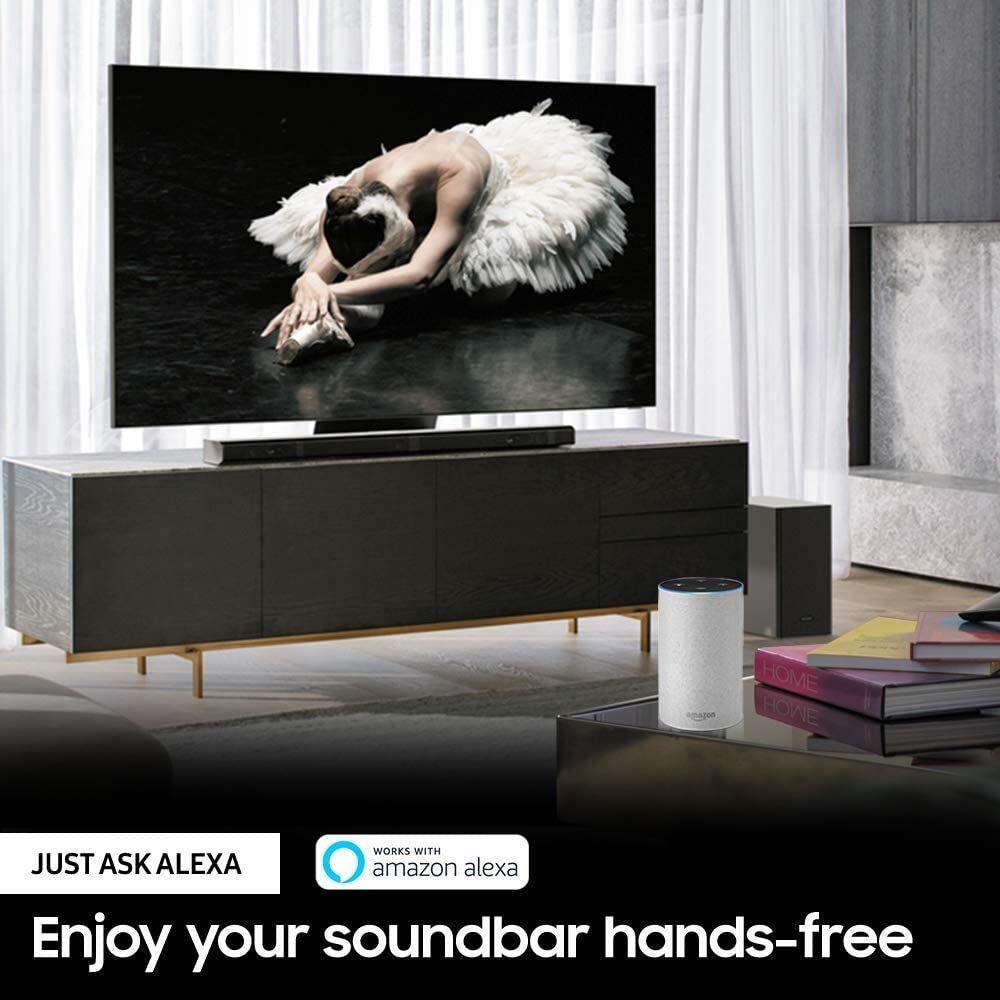 Samsung 85 Inche Neo QLED 8K Smart TV with Solar Remote, QN800A + Samsung 3.1.2ch Wireless Soundbar, Black - HW-Q70T