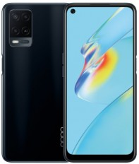 Oppo A54 Dual SIM Mobile Phone - 6.51 Inch, 128 GB, 4 GB RAM, 4G LTE - Crystal Black