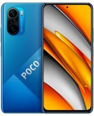 Xiaomi POCO F3 Dual SIM Mobile - 6.67 Inches, 256 GB, 8 GB RAM, 4G LTE - Deep Ocean