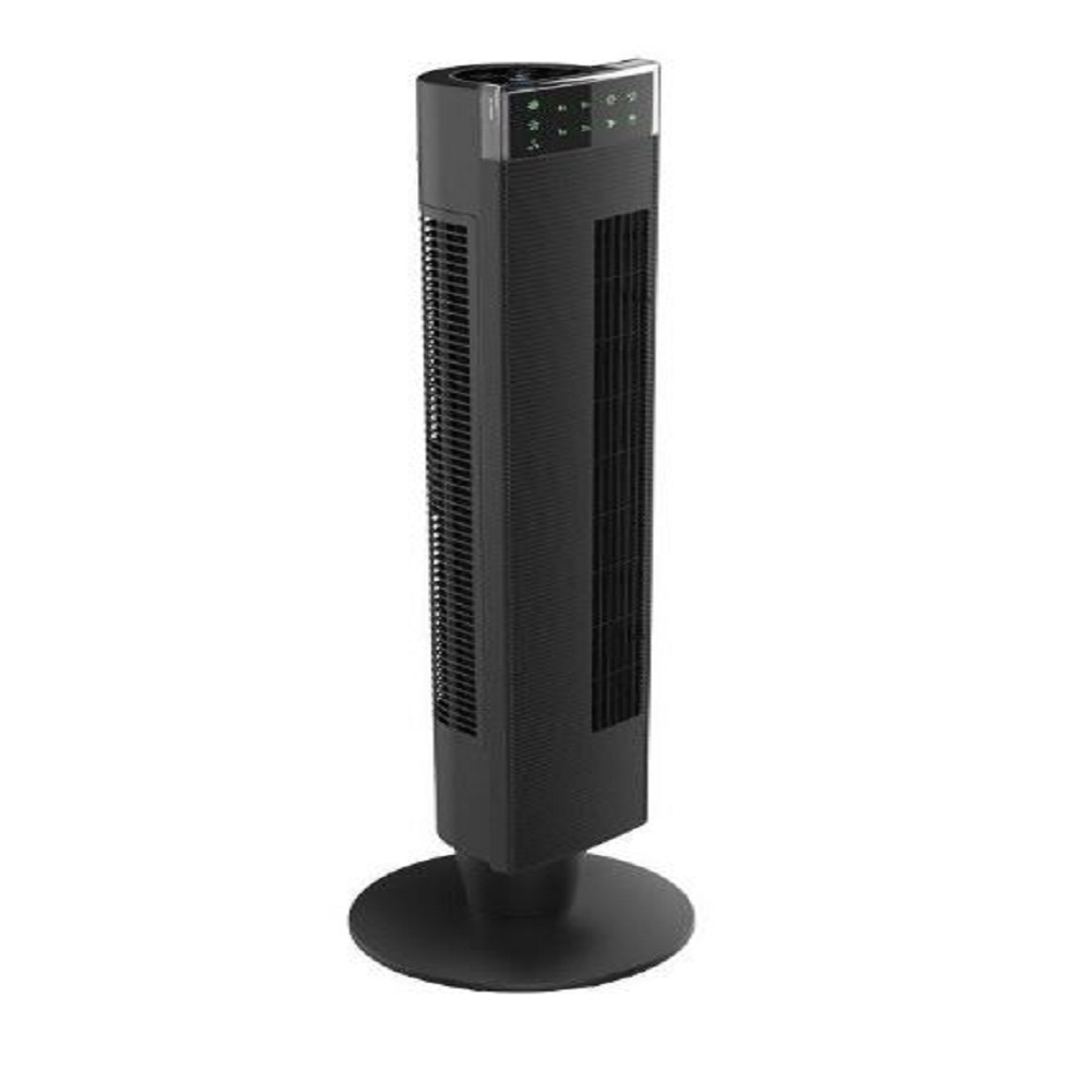 TORNADO Tower Fan With 3 Speeds and Remote Control In Black Color TTF-65
