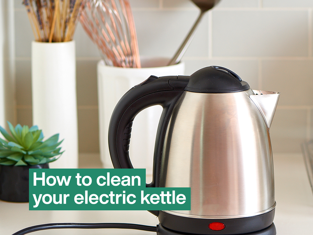 How to Clean Your Electric Kettle