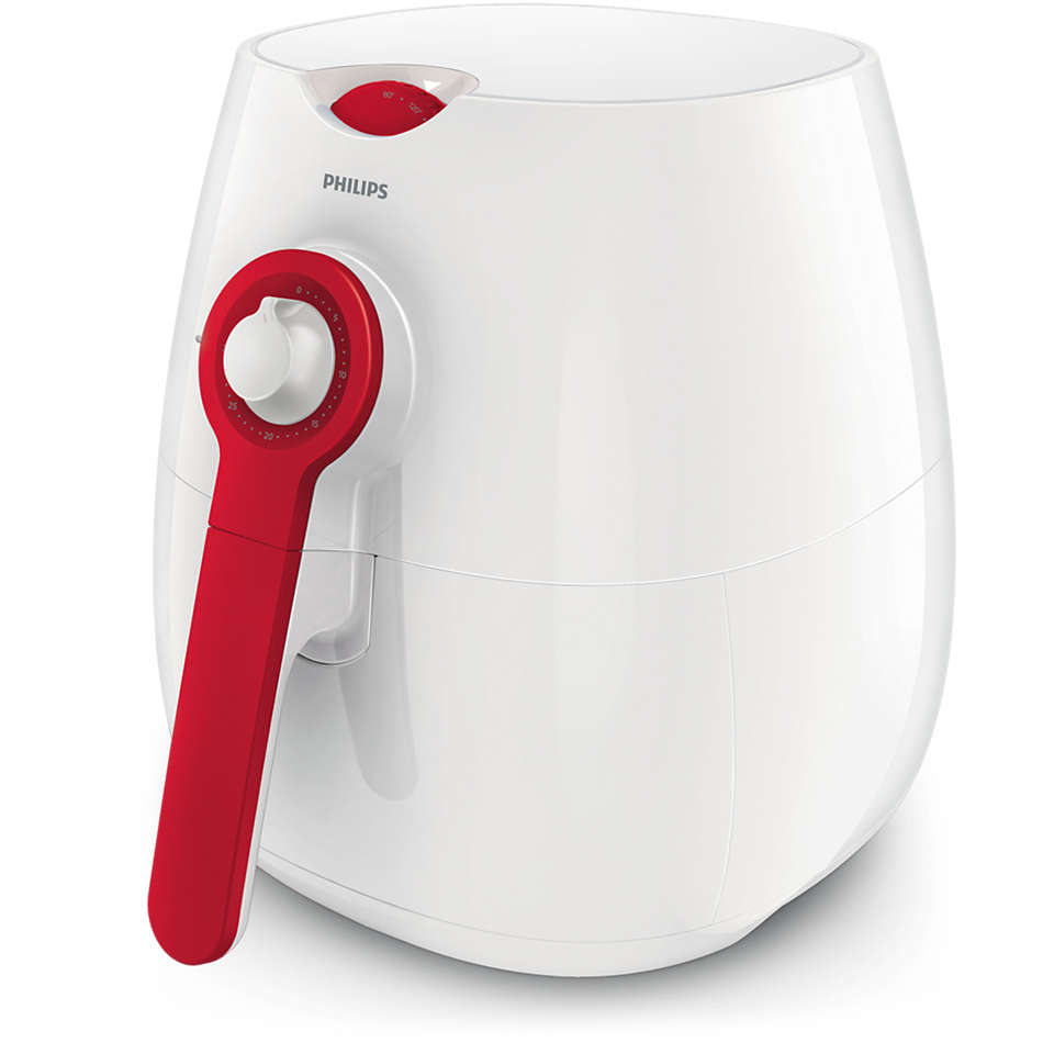 Daily Collection Air Fryer 0.8L 1425W HD9217 White/Red