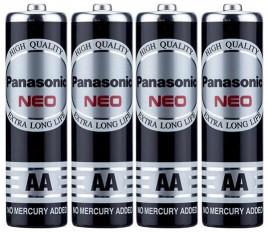 Panasonic Neo Manganese AA-Size Battery R6NT/4B