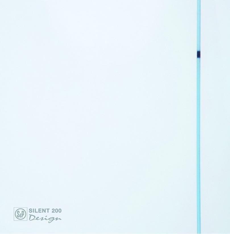 silent design 200 .21/21 cm wallmounted