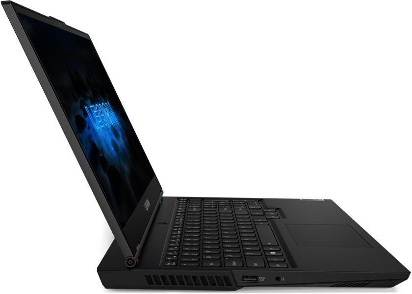 Lenovo Legion 5-15IMH05 Gaming laptop , Intel 10th Gen Core i7-10750H, 8GB RAM, 512GB SSD, NVIDIA GeForce GTX 1650 Ti 4GB GDDR5 Graphics, 15.6 inch FHD (1920X1080) IPS 120Hz, Backlit Keyboard, Windows 10 - Phantom Black
