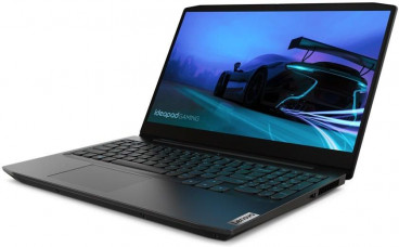 Lenovo IdeaPad Gaming 3 laptop Intel 10th Core i7-10750H, 16GB DDR4-2933, 1TB HDD + 256GB SSD PCIe NVMe, NVIDIA GeForce GTX 1650 4GB GDDR6 Graphics, 15.6 - Dos , Arabic - English Keyboard