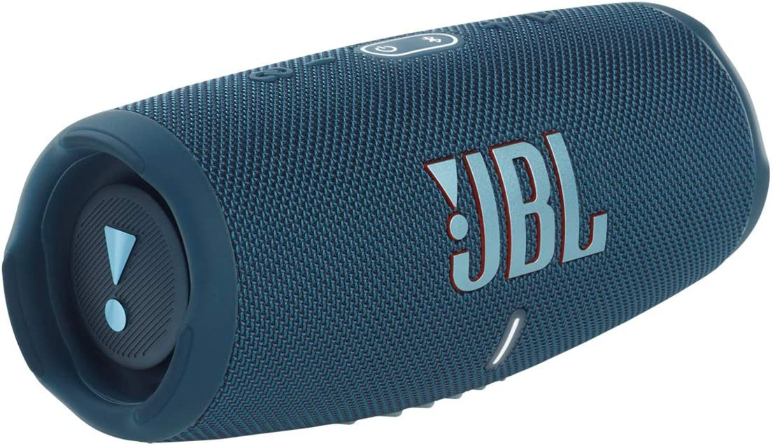 JBL CHARGE 5 - Portable Bluetooth Speaker with IP67 Waterproof and USB Charge out - Blue