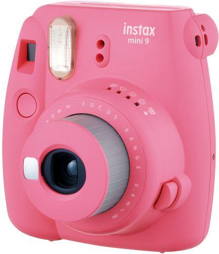 FujifilmInstax mini 9 Instant Film Camera, Flamingo Pink