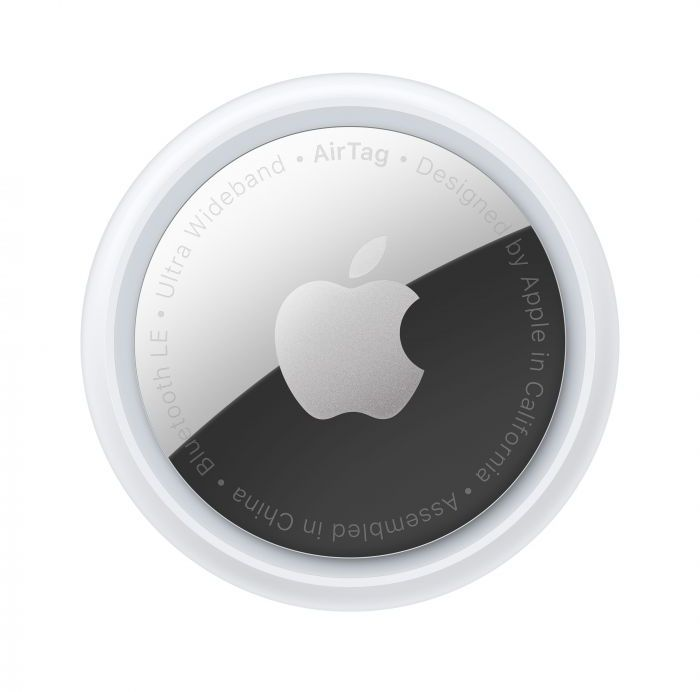 Apple AirTag MX532ZE/A, Pack Of 1 - White and Grey